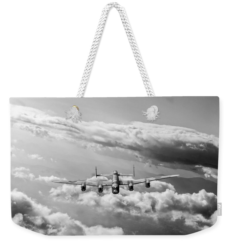 Lancaster Weekender Tote Bag featuring the photograph Lancaster Sunlit by Gary Eason