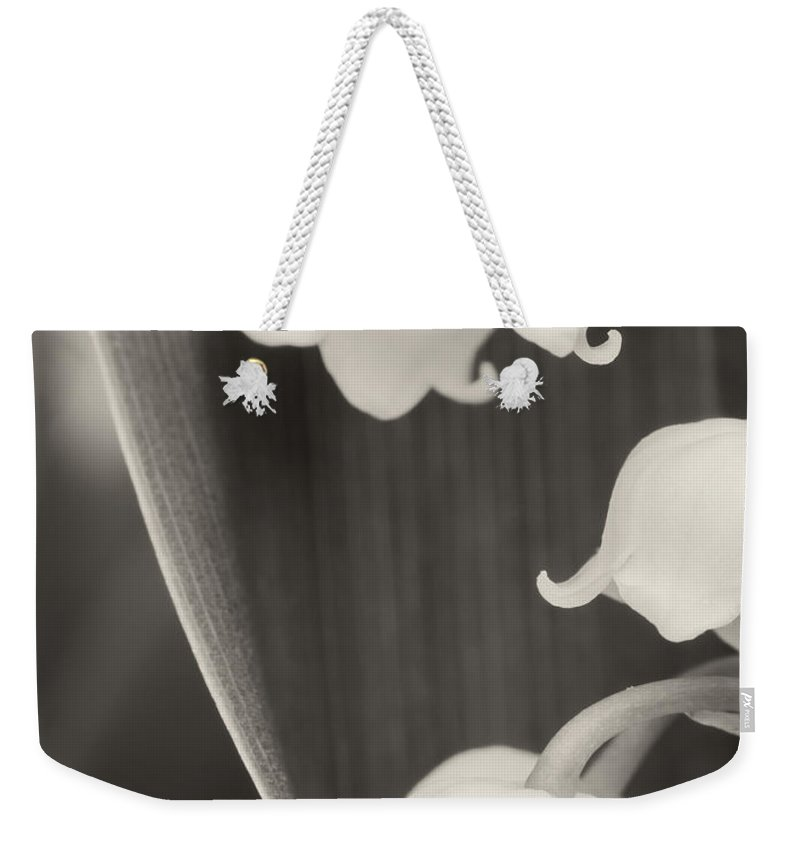 Lily Of The Valley Weekender Tote Bag featuring the photograph Lily Of The Valley by Wim Lanclus