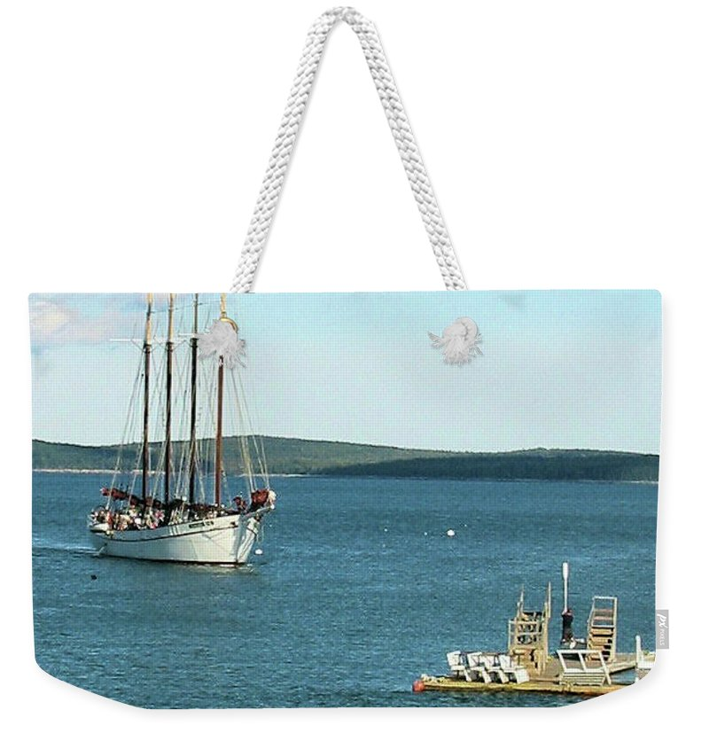 Seascape Weekender Tote Bag featuring the photograph Margaret Todd by Robert McCulloch