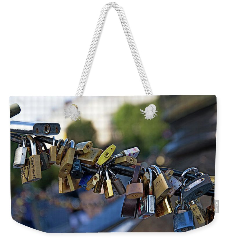 Diana Weekender Tote Bag featuring the digital art Monument To Diana In Paris by Carol Ailles