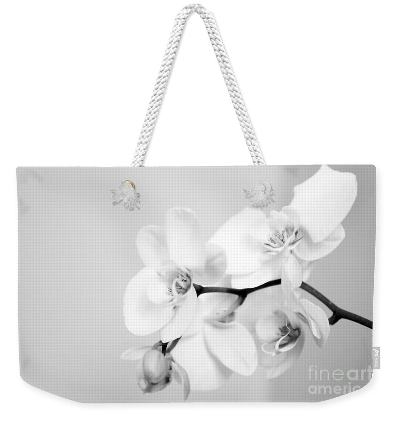 Orchid Weekender Tote Bag featuring the photograph Orchid by Amanda Barcon