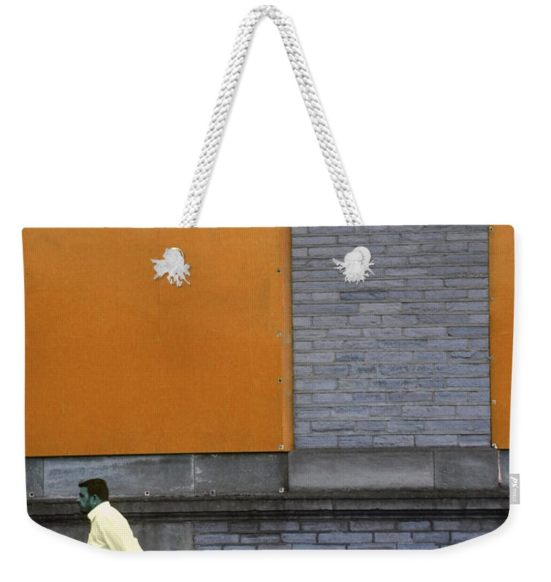Weekender Tote Bag featuring the photograph Peril by Jez C Self