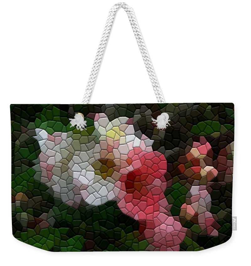 Quince Weekender Tote Bag featuring the photograph Quince Toyo Nishiki by Kathryn Meyer
