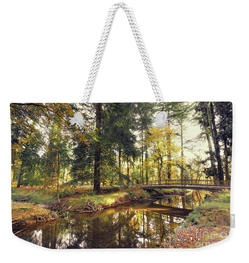 Svetlana Sewell Weekender Tote Bag featuring the photograph River by Svetlana Sewell