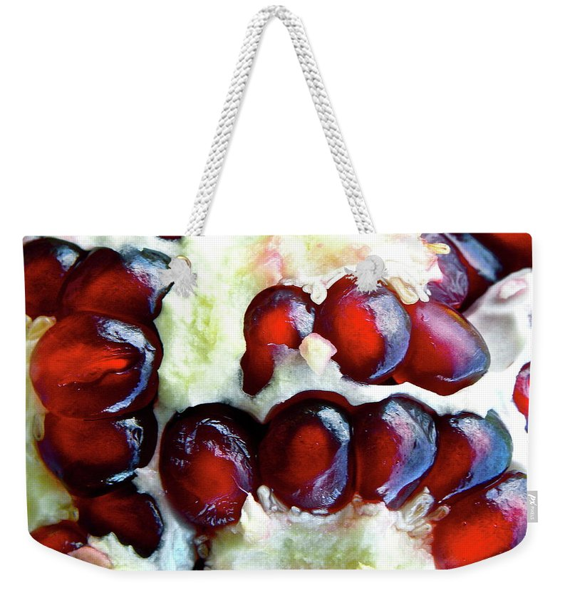 Fruit Weekender Tote Bag featuring the photograph Seul by Shannon Turek