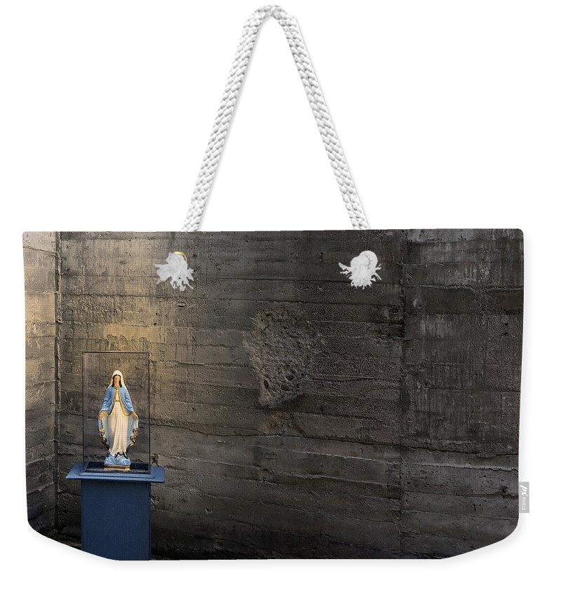 Shrine Weekender Tote Bag featuring the photograph Shrine by Dominic Piperata