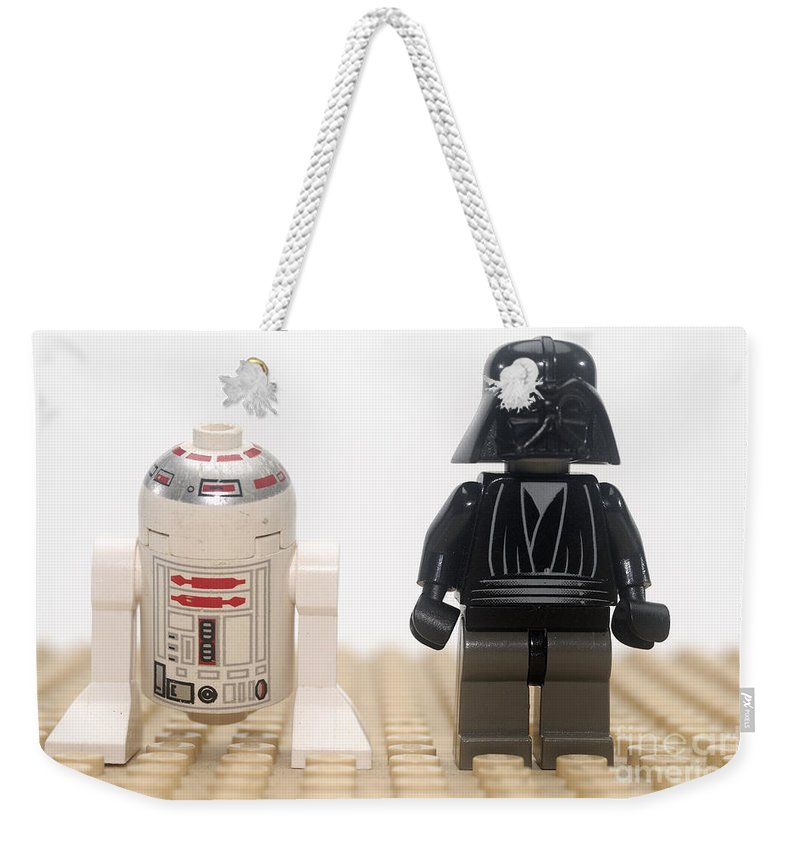 R2d2 Weekender Tote Bag featuring the photograph Star Wars Action Figure by Ilan Rosen