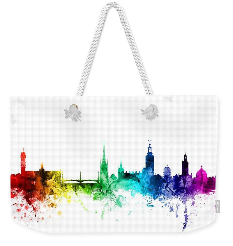Sweden Weekender Tote Bags