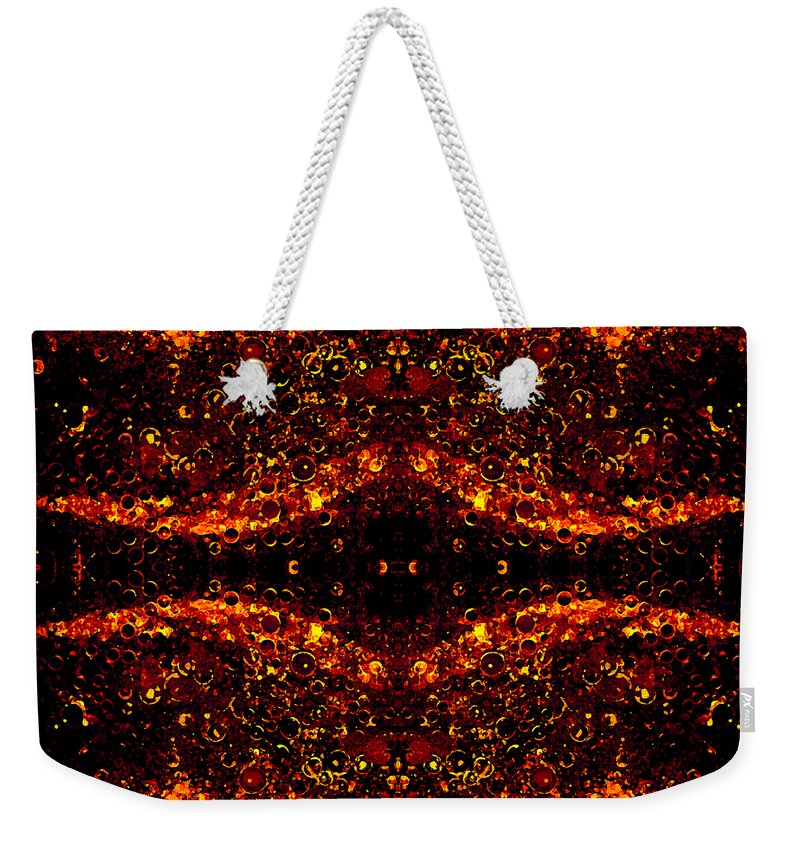 Abstract Weekender Tote Bag featuring the photograph The Beginning Or The End by Angelina Vick