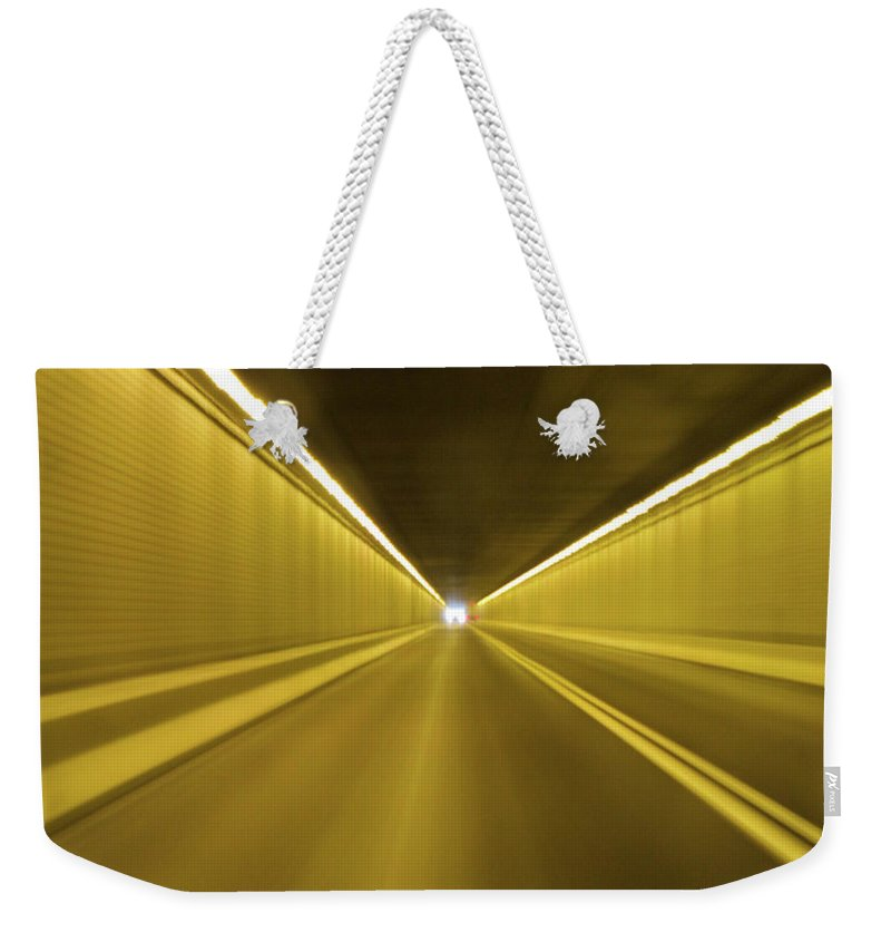 Light Weekender Tote Bag featuring the photograph The Light by Julie Niemela