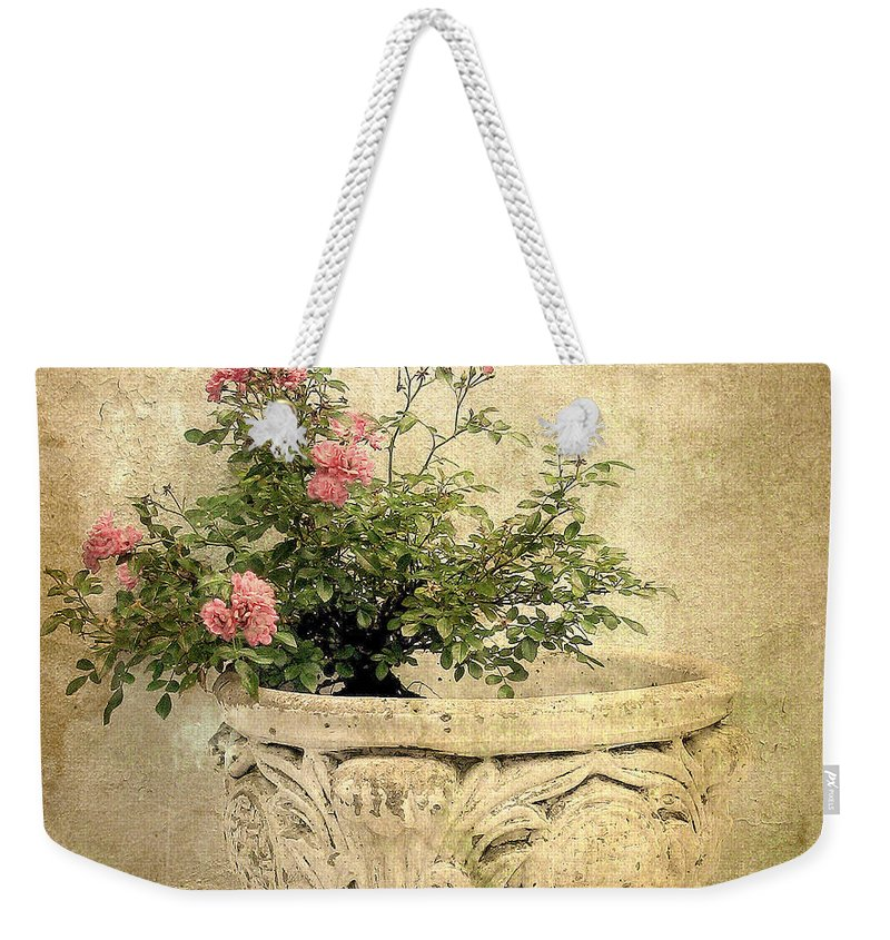 Vintage Weekender Tote Bag featuring the photograph Vintage Still Life by Jessica Jenney