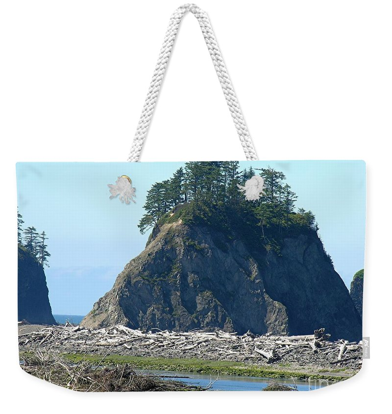Ocean Weekender Tote Bag featuring the photograph Washington Coast by Diane Greco-Lesser