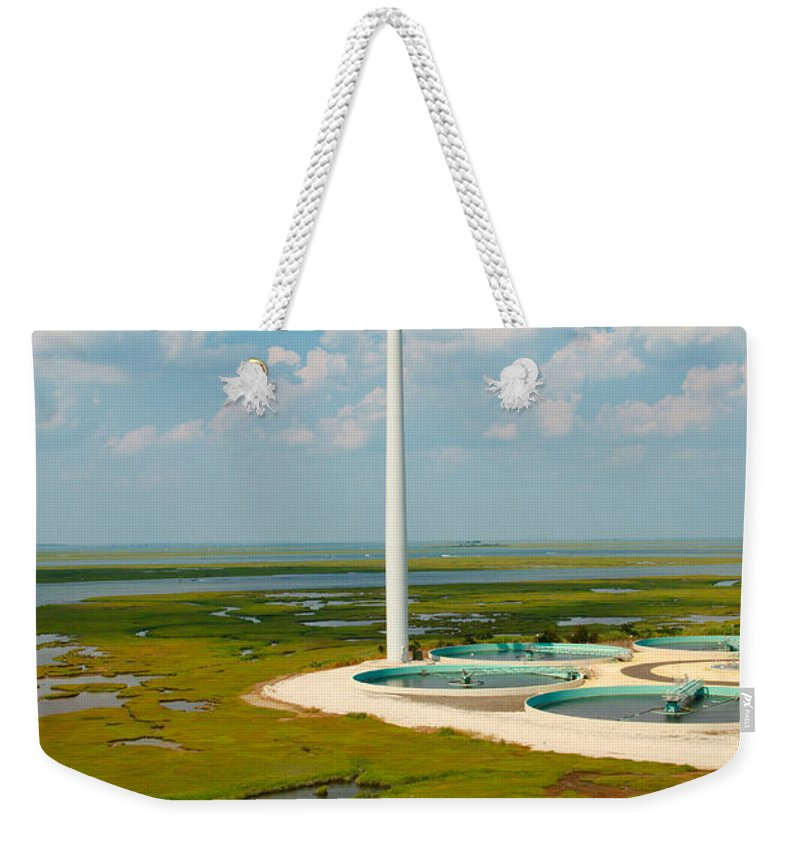 Wind Farm Weekender Tote Bag featuring the photograph Wind Farm by George Mattei