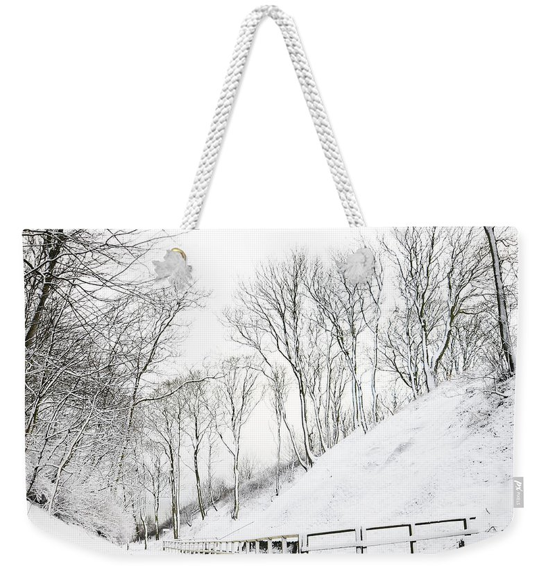 Winter Weekender Tote Bag featuring the photograph Winter by Svetlana Sewell