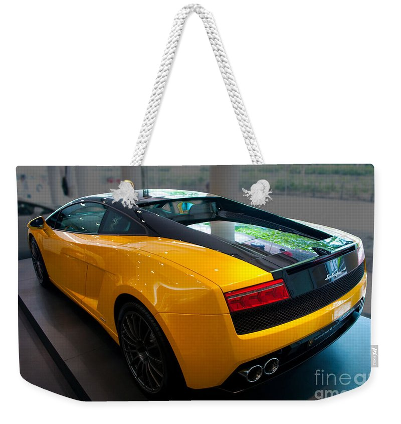 2011 Lamborghini Gallardo Lp560 4 Bicolore Rear View Weekender