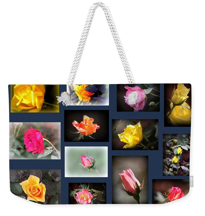 Rose Weekender Tote Bag featuring the photograph 2014-03-16 - Rose by Travis Truelove