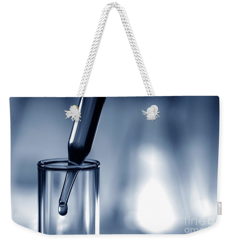Chemicals Photographs Weekender Tote Bags