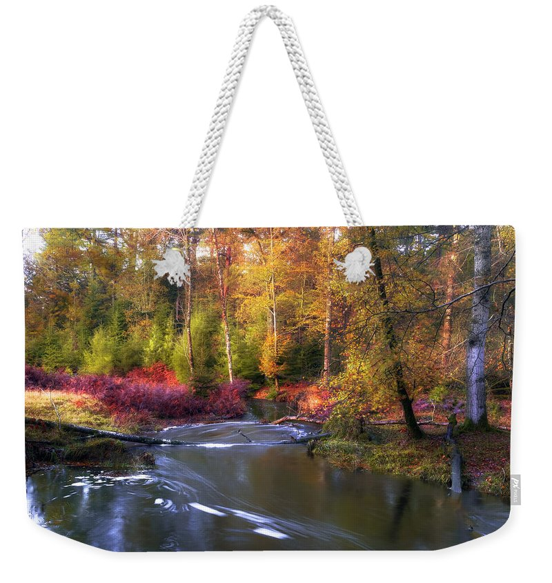 New Forest Weekender Tote Bag featuring the photograph New Forest - England by Joana Kruse