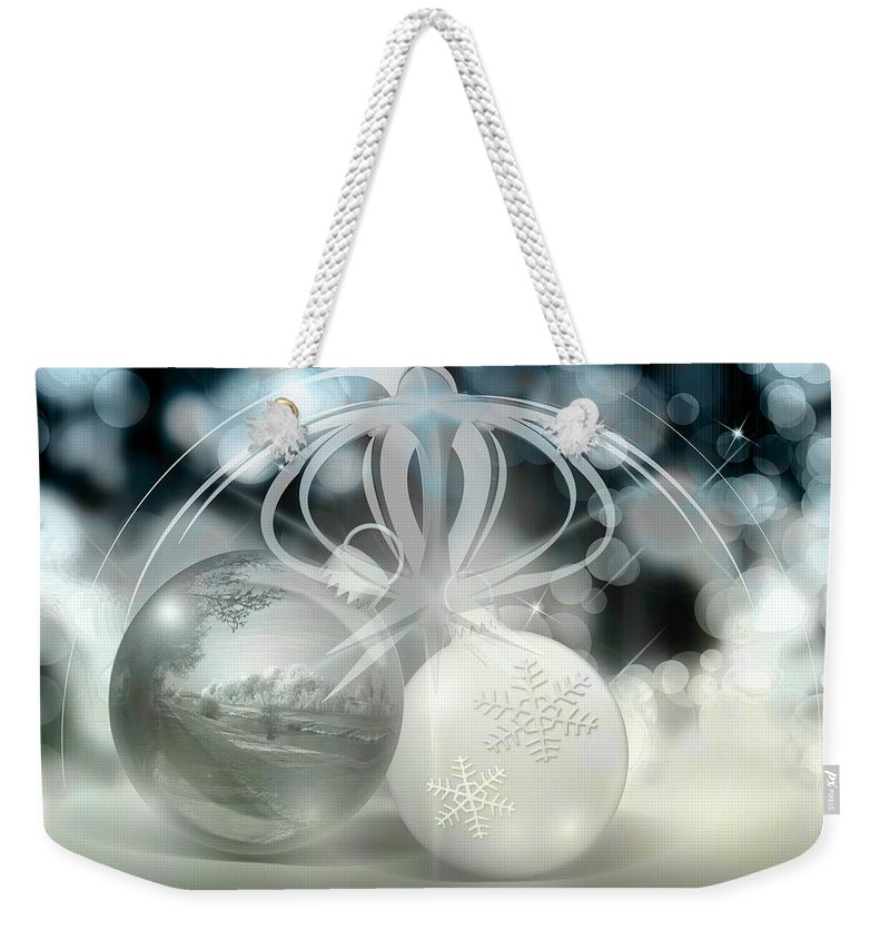 Decoration Weekender Tote Bag featuring the photograph Christmas by FL collection