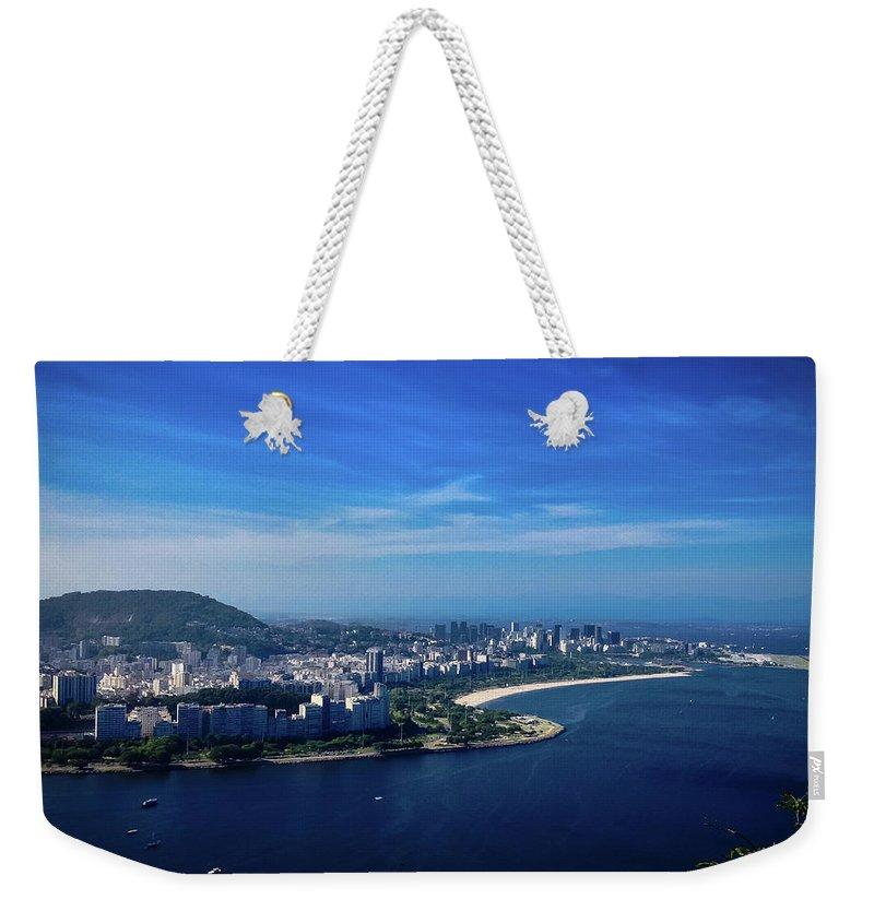 Rio De Janeiro Weekender Tote Bag featuring the photograph Rio De Janeiro by Cesar Vieira