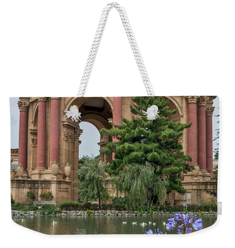 Palace Of Fine Arts Weekender Tote Bag featuring the photograph 2482- Palace Of Fine Arts by David Lange