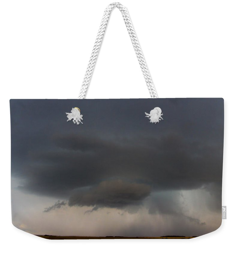 Nebraskasc Weekender Tote Bag featuring the photograph 4th Storm Chase 2015 by NebraskaSC