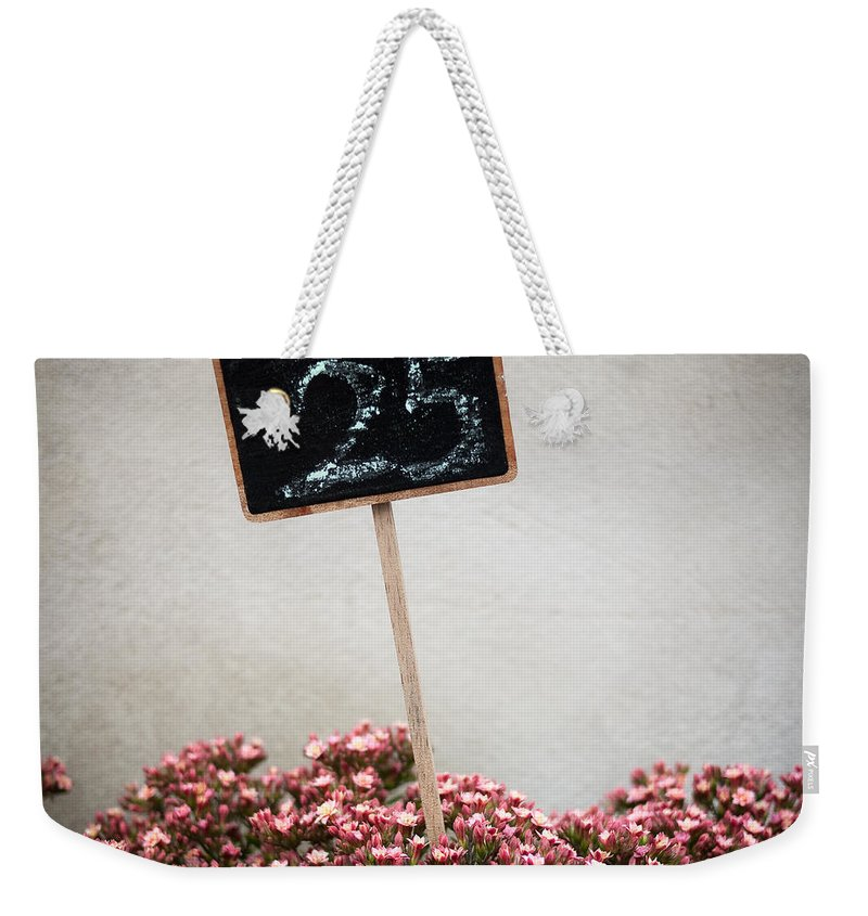 Flowers Weekender Tote Bag featuring the photograph 25 by Dave Bowman