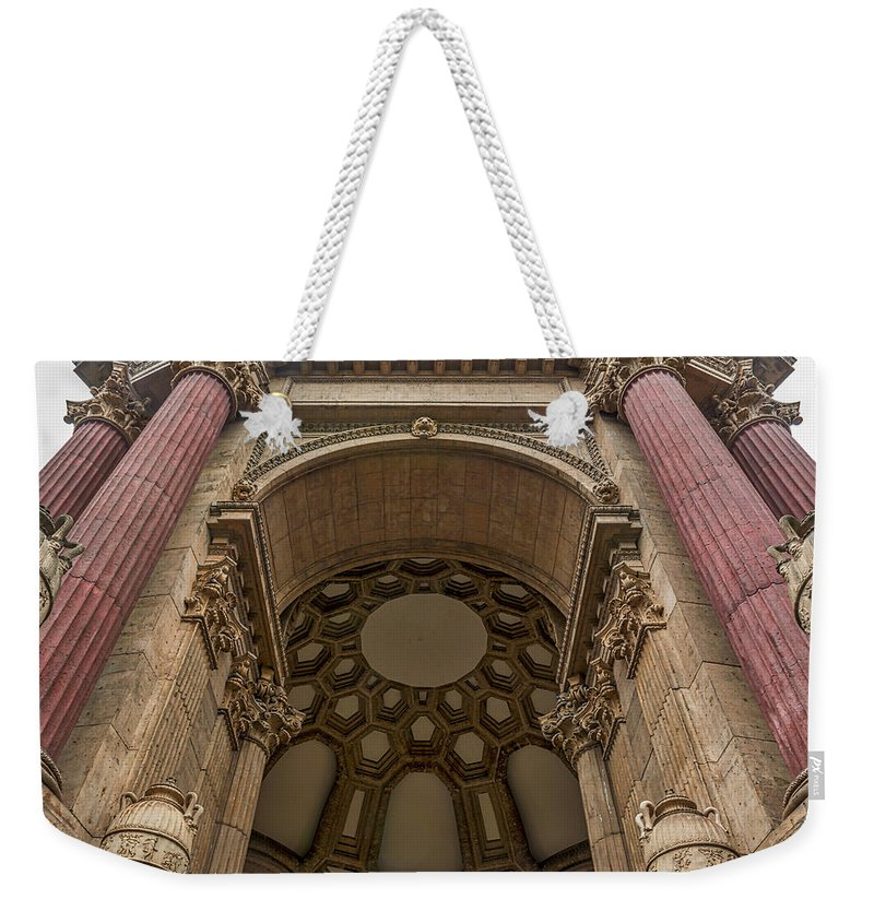 Palace Of Fine Arts Weekender Tote Bag featuring the photograph 2520- Palace Of Fine Arts by David Lange