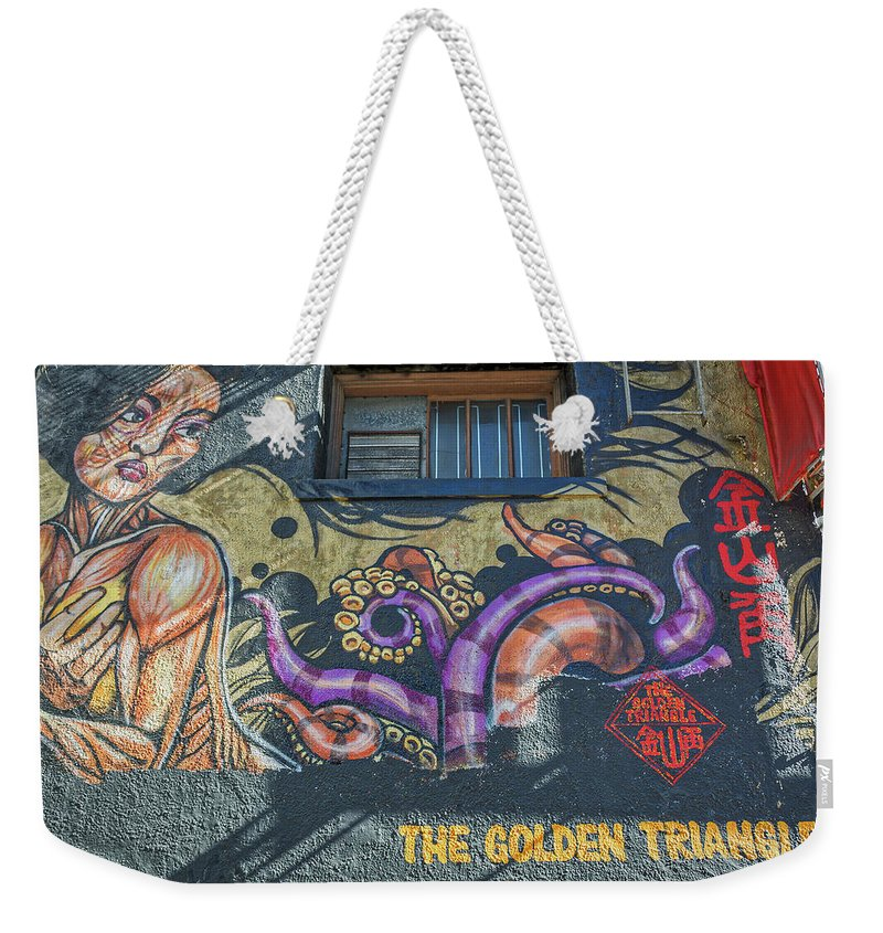 California Weekender Tote Bag featuring the photograph 2635- Golden Triangle by David Lange