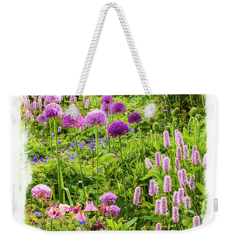 Garden Weekender Tote Bag featuring the photograph Castle Gardens by Margie Wildblood