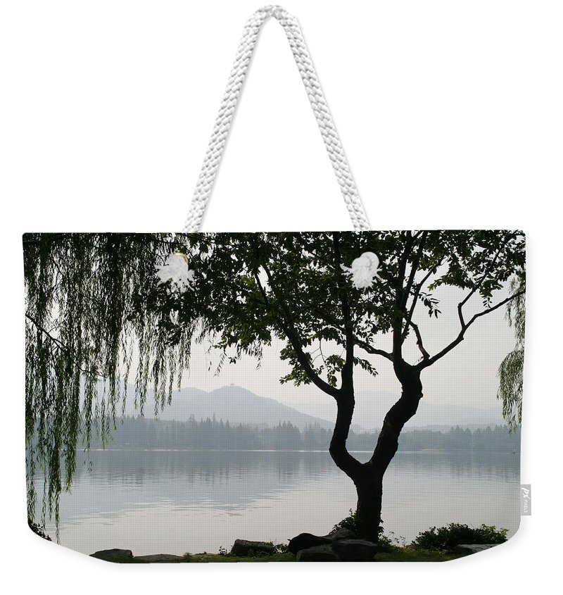 Non_city Weekender Tote Bag featuring the photograph China by FL collection
