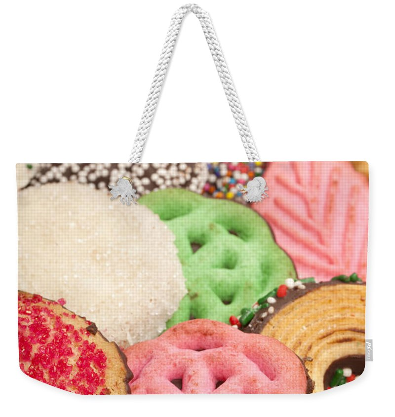 Cookies Weekender Tote Bag featuring the photograph Christmas Cookies by Anthony Totah