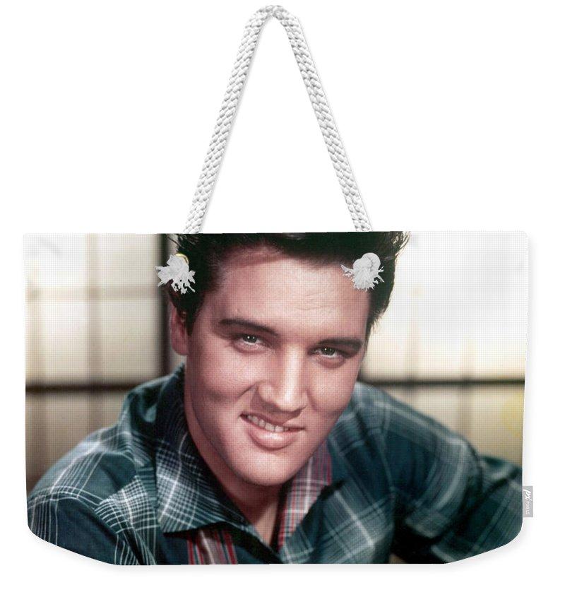 Elvis Presley Weekender Tote Bags