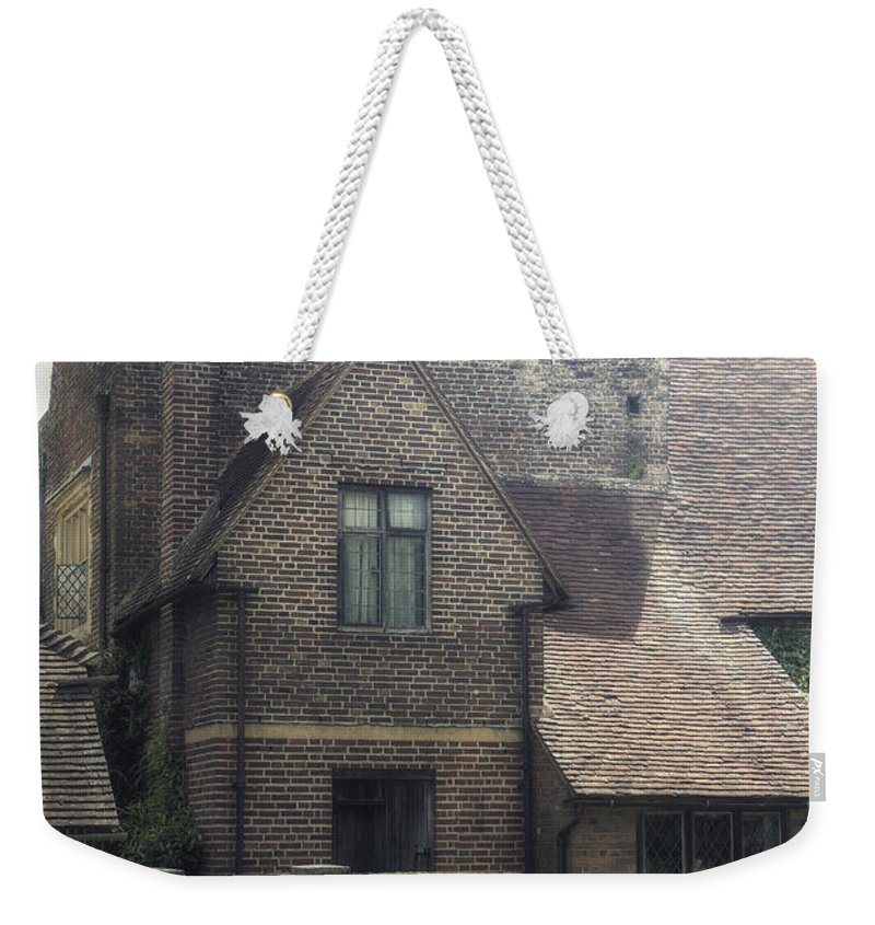 Cottage Weekender Tote Bag featuring the photograph English Cottage by Joana Kruse