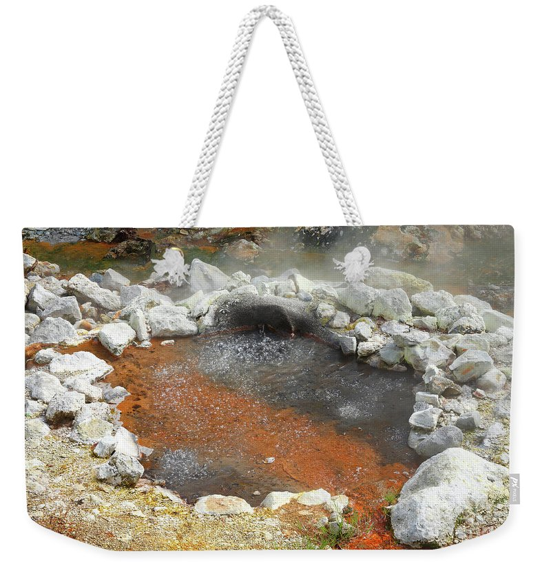 Azores Weekender Tote Bag featuring the photograph Furnas - Azores by Gaspar Avila