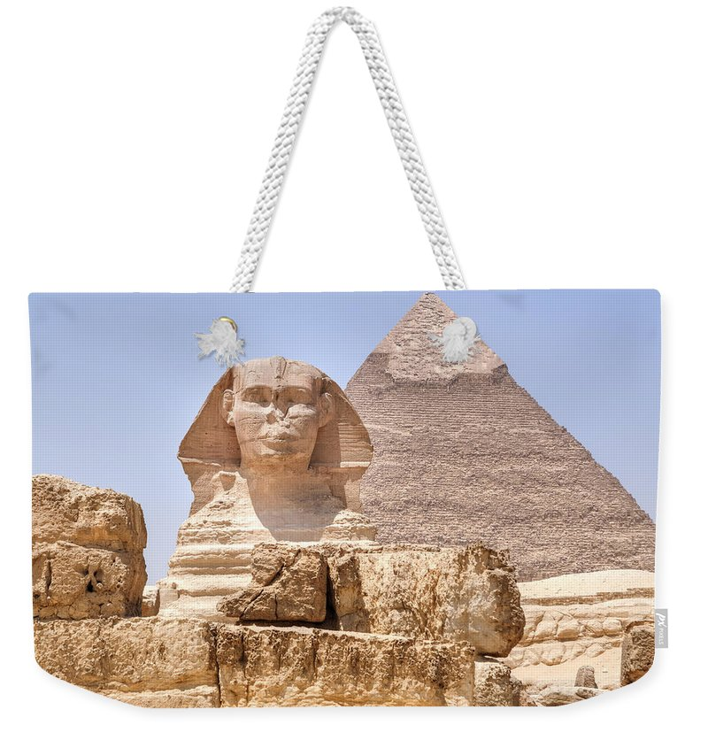 Great Pyramids Of Giza Weekender Tote Bags