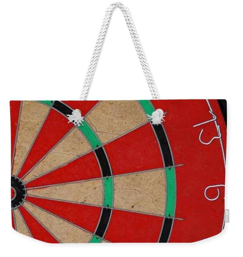 Macro Weekender Tote Bag featuring the photograph Half Board by Rob Hans