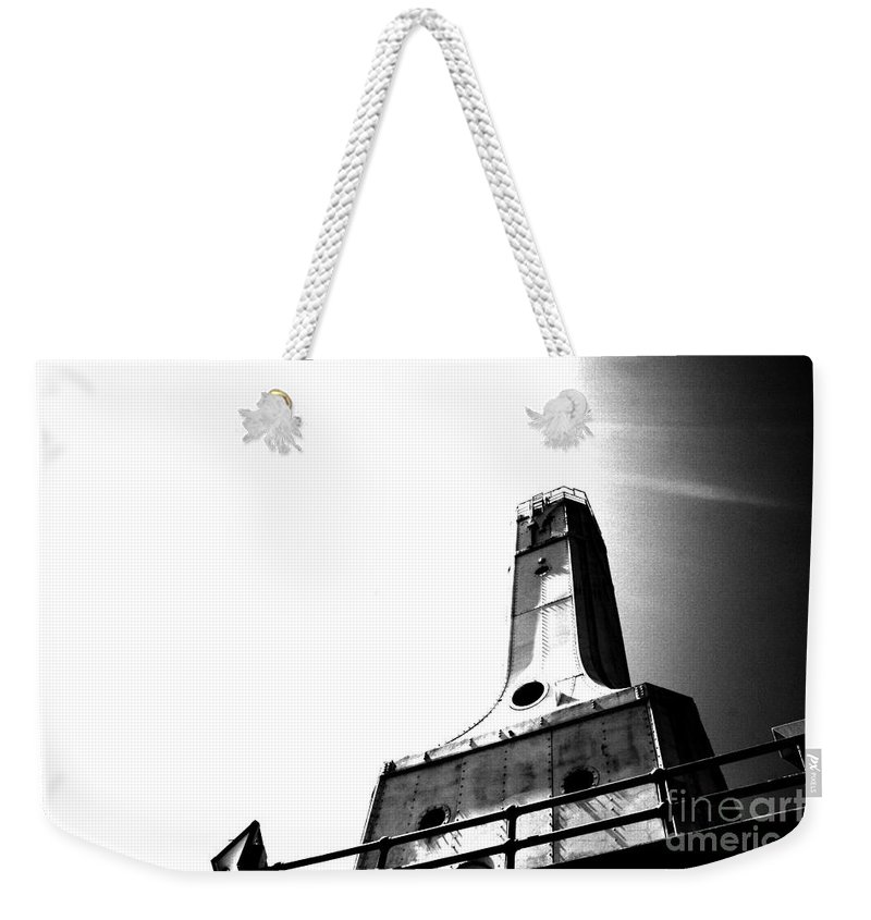 Light House Weekender Tote Bag featuring the photograph Hope by Jamie Lynn