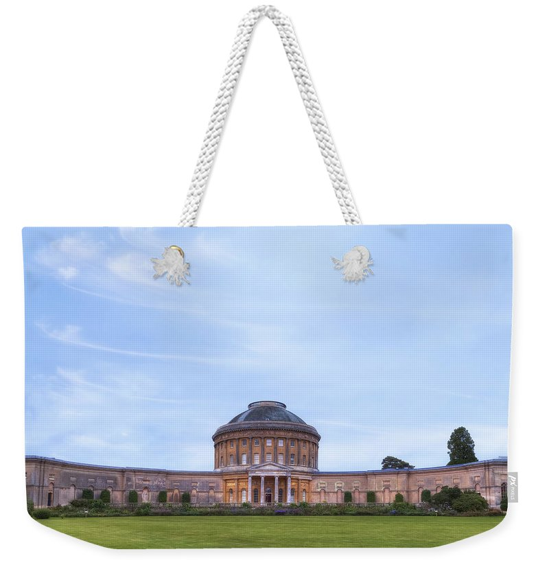 Ickworth House Weekender Tote Bag featuring the photograph Ickworth House - England by Joana Kruse