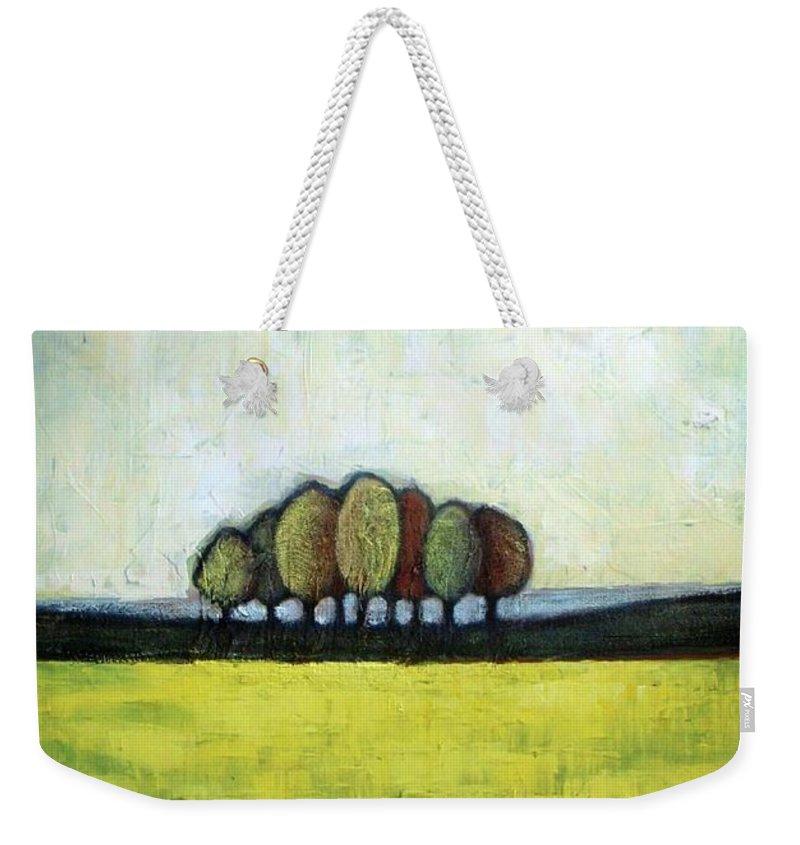 Field Weekender Tote Bags
