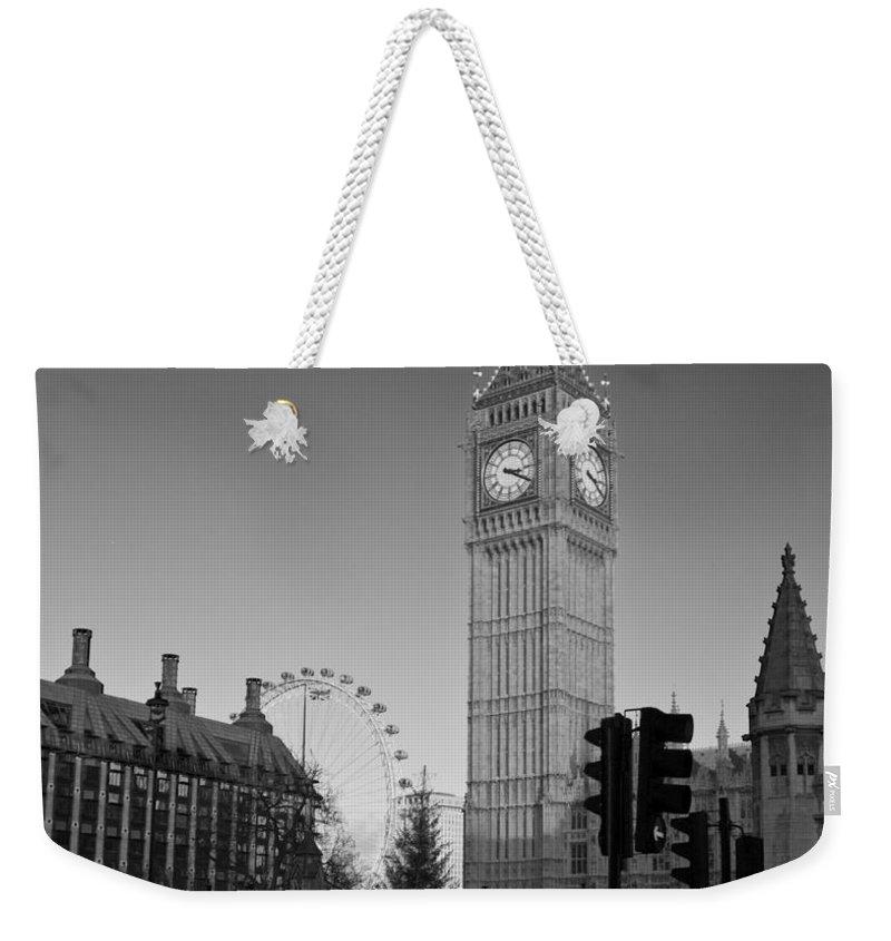 London Eye Weekender Tote Bags