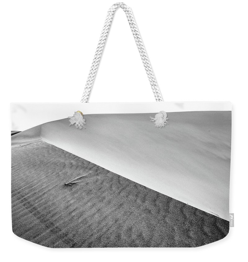 Air Weekender Tote Bag featuring the photograph Magnificent Sandy Waves On Dunes At Sunny Day by Oleg Yermolov