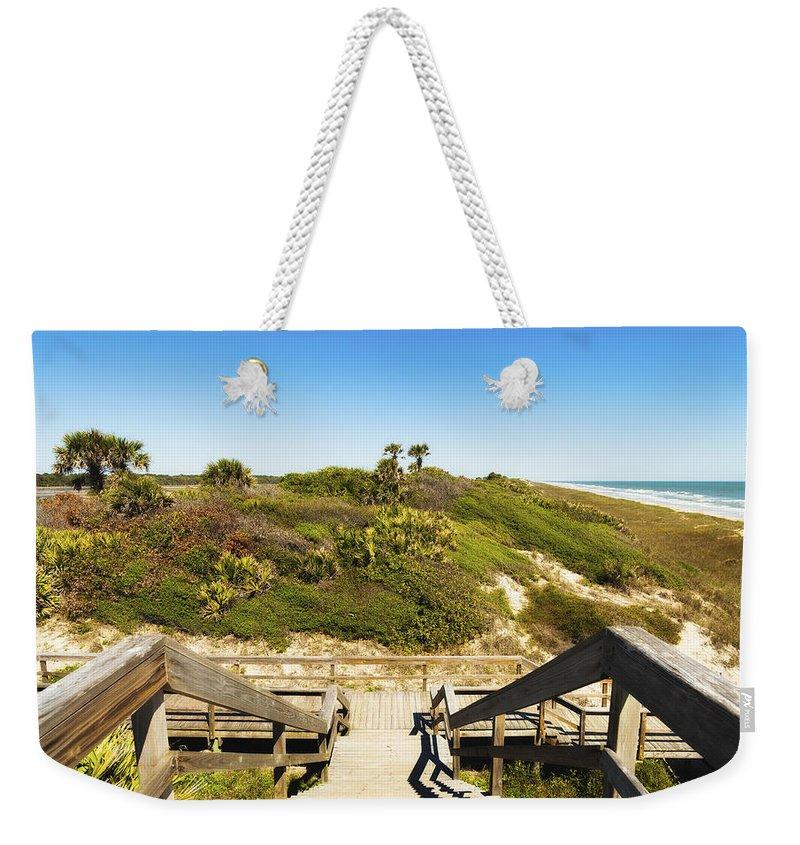 Atlantic Ocean Weekender Tote Bag featuring the photograph Ponte Vedra Beach by Raul Rodriguez