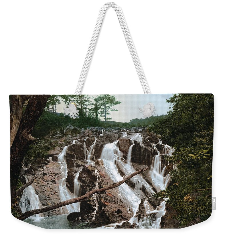 1890 Weekender Tote Bag featuring the photograph Snowdonia National Park by Granger