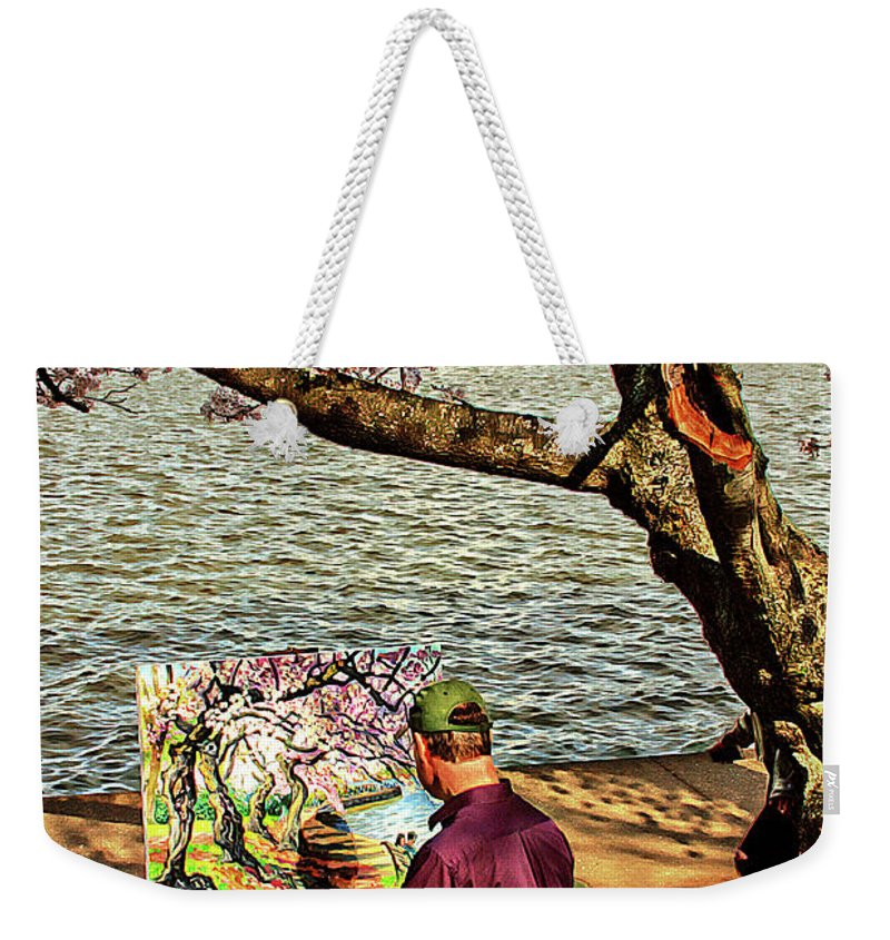 Artist Weekender Tote Bag featuring the photograph The Artist by Margie Wildblood