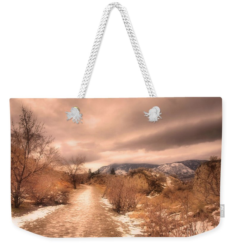 Road Weekender Tote Bag featuring the photograph The Kvr Collection by Tara Turner