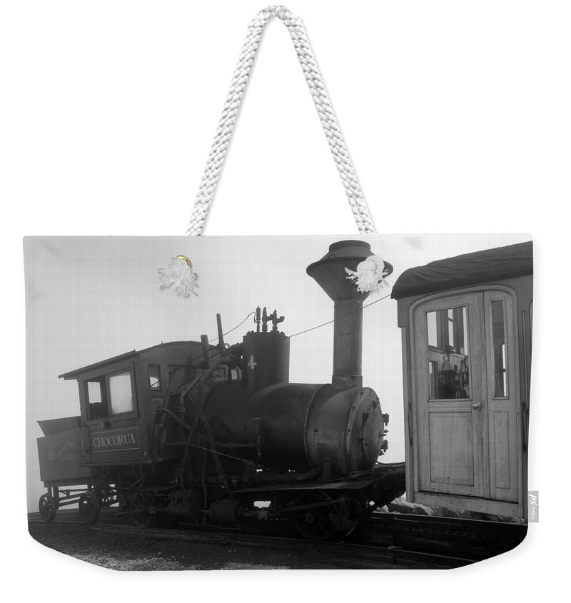 Train Weekender Tote Bag featuring the photograph Train by Sebastian Musial