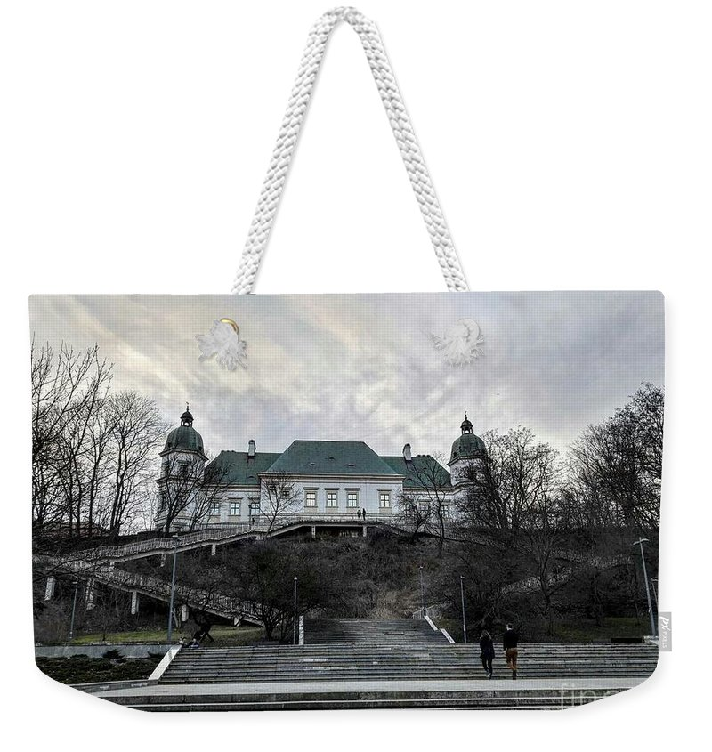 Weekender Tote Bag featuring the photograph Warsaw, Poland by Christian Smochko