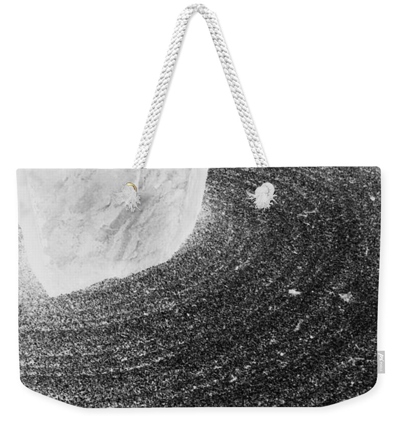 Weekender Tote Bag featuring the photograph Zen Circle by Jamie Lynn