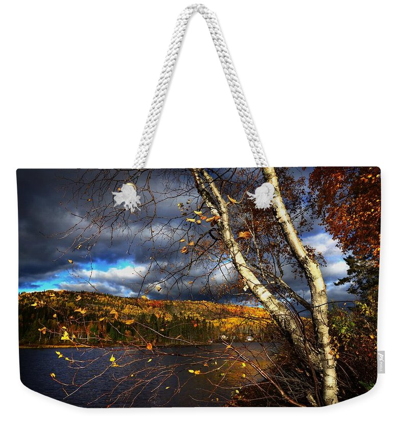 Non_city Weekender Tote Bag featuring the photograph Landscape by FL collection